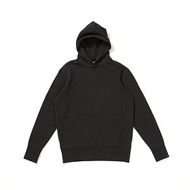Freemans Sporting Club, Loopwheeler - Hooded Sweatshirt - Black