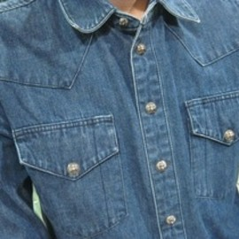 chrome hearts - DENIM WESTERN SHIRTS