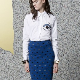KENZO - Eye Pencil skirt