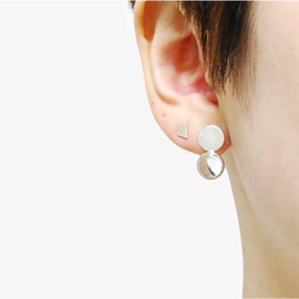 YES - Twins crystal ear ring