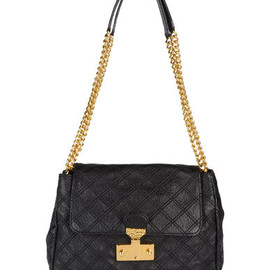 MARC JACOBS - MARC JACOBS - レザーバッグ(中) black