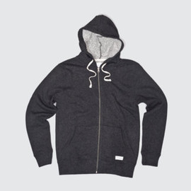 Saturdays Surf NYC - JP Fullzip Hoodie (Charcoal)