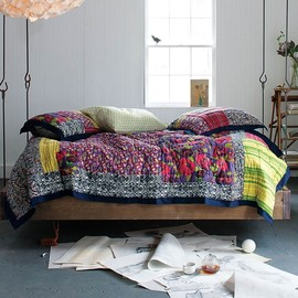Anthropologie - Barnwood Bed