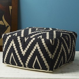 west elm - Kite Kilim Floor Pouf
