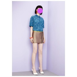 Antipodium - 2013/RESORT  Lounge Lover Blouse in Double Digits