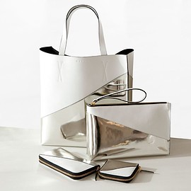 MARNI - white x silver bag