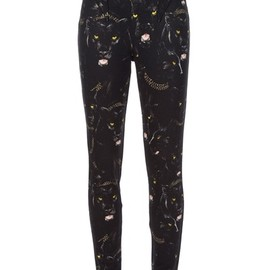 GIVENCHY - panther stretch trouser