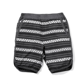 White Mountaineering - Cotton Triangle Pattern Jacquard Short Pants