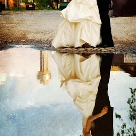 wedding - reflection love