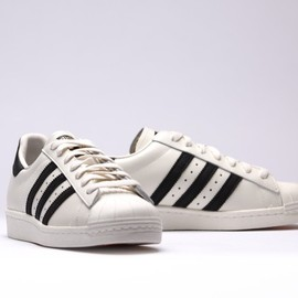 adidas - Superstar 80s Vintage Deluxe - Core Black/Off White
