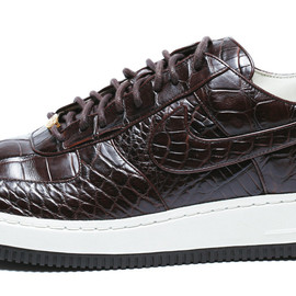 NIKE - AIR FORCE 1 LOW (Authentic Crocodile Leather)