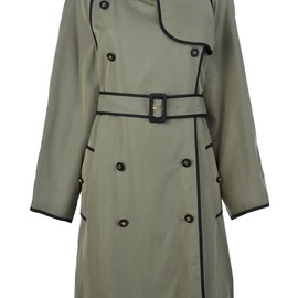 CHANEL, VINTAGE - double-breasted trench coat