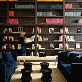 Christian Liaigre - Hotel Mercer Librairy, New York
