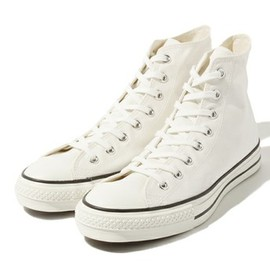CONVERSE - CANVAS ALL STAR J HI (made in japan)