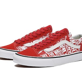VANS - Style 36 (OTW Repeat)red/true white