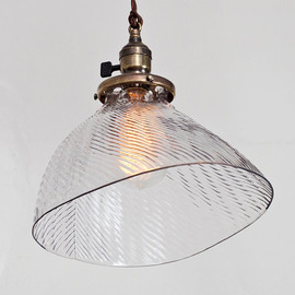 FleaMarketRx - Vintage Industrial X Ray Mercury Glass Shade