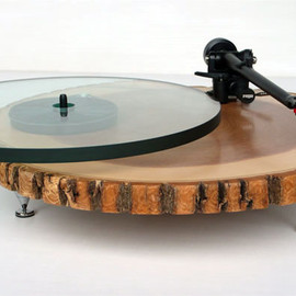 AUDIOWOOD - BARKY TURNTABLE