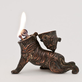 Tiger Figural Table Lighter