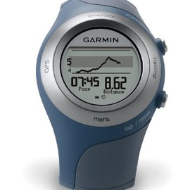 Garmin - Forerunner 405CX GPS Sport Watch with Heart Rate Monitor (Blue)