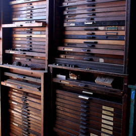 la printers fair drawers and drawers of type