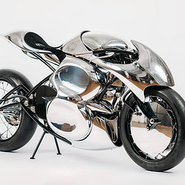 "Baresteel - ""Stingray "" electric motorcycle"