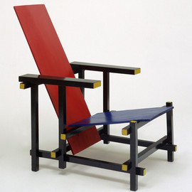 Gerrit Rietveld - Red Blue Chair 1923