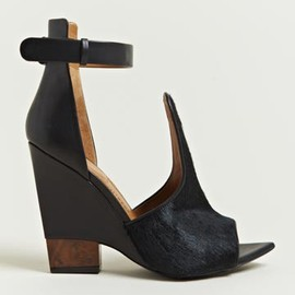 GIVENCHY - Givenchy Women's Calf Hair  Ankle Strap Wedges