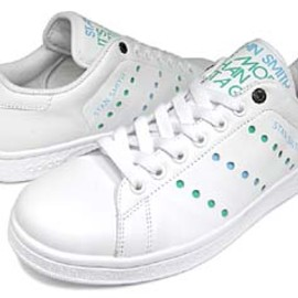 adidas - adidas stan smith 1 [it's more than just a game/consortium] 022910 アディダス スタンスミス1 「パステルドット/コンソーシアム」