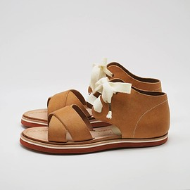 deco&boco - cross sandal  pueblo natural