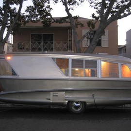 holiday house {vintage trailer}