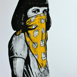 SCREENPRINT BY DOLK - CIRCUS- edition of 250