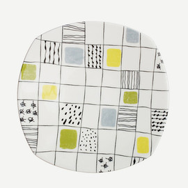 CONRAN SHOP - CHEQUERS TABLEWARE DINNER PLATE