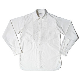 heller's cafe - 1900's Western Style Starched Bosom Shirts