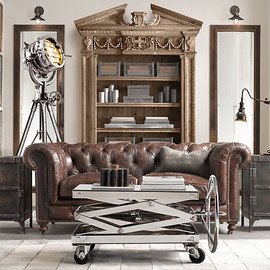 Restoration Hardware - Industrial Scissor Lift Table