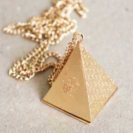 Lazy Oaf - Lazy Oaf 3D Pyramid Necklace