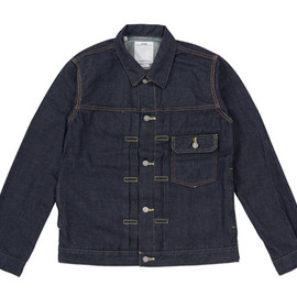 visvim - SOCIAL SCULPTURE 102 JKT ONE WASH
