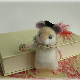 Hamster Figure MADE TO ORDER