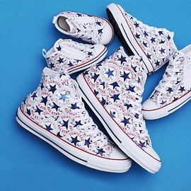 CONVERSE - ALL STAR 100 MANYPATCH HI