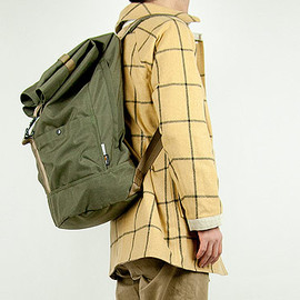 ENDS and MEANS - Refugee Duffle Bag RANGER GREEN