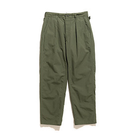 ENGINEERED GARMENTS - Ground Pant-Cotton Ripstop-Olive