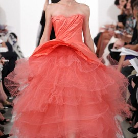 Oscar de la Renta - Red dress
