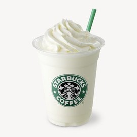 Starbucks Coffee - Vanilla ice cream Frappuccino/バニラ クリーム フラペチーノ