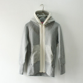 JUNYA WATANABE COMME des GARCONS MAN PINK - Sweat Zip Up Parka