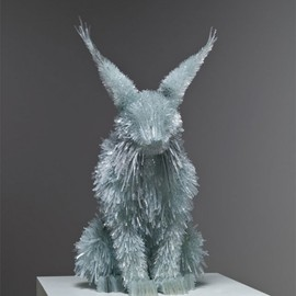 Marta Klonowska - Glass Animals, sculpture, shattered glass
