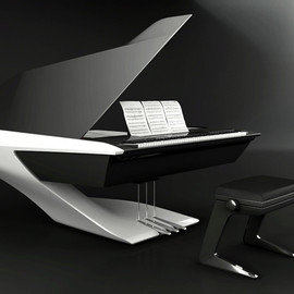 Peugeot - Grand Piano designed by  Peugeot Design Lab