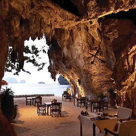 Thailand - The Grotto – a Romantic Restaurant on the Beach in Thailand