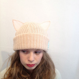 sowa - cat knit cap