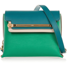 Chloé - Clare small textured-leather shoulder bag