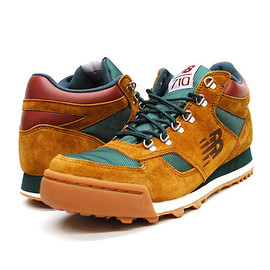 NEW BALANCE - NEW BALANCE FOR J.CREW H710 RAINIER HIKER BOOTS ジェイクルー別注 スニーカー BROWN/GREEN