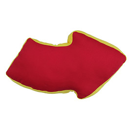 YELLOW HAMMER - ARROW CUSHION-RED